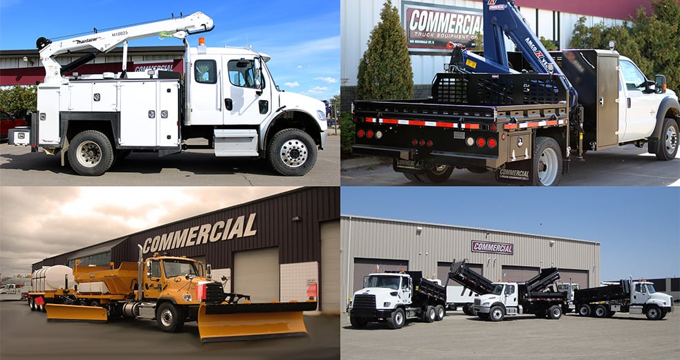 Crane, Snow & Landscaping Truck Equipment